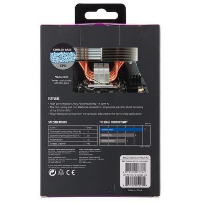 Pasta Térmica Cooler Master Mastergel Maker, 1.5ml - MGZ-NDSG-N15M-R2