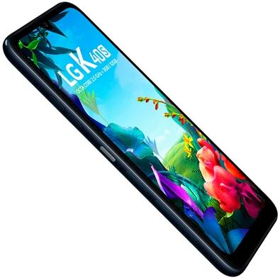 Smartphone LG K40S, 32GB, 13MP, Tela 6.1´, Preto, TIM - LMX430BMW