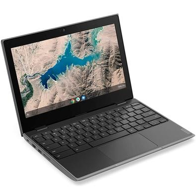 Chromebook Lenovo 100e Intel Celeron N4000, 4GB, 32GB, Google Chrome OS, 11.6´ - 81MA000QBR