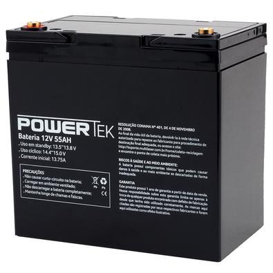 Bateria Powertek 12V, 55Ah - EN023