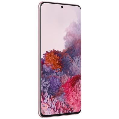 Smartphone Samsung Galaxy S20, 128GB, 64MP, Tela 6.2´, Cloud Pink + Capa Protetora - SM-G980FZIJZTO