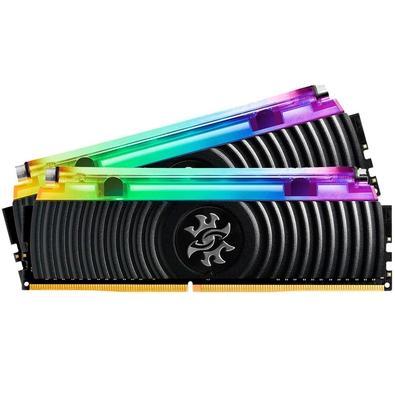 Memória XPG Spectrix D80, RGB, 16GB (2x8GB), 3600MHz, DDR4, CL17 - AX4U360038G17-DB80