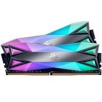 Memória XPG Spectrix D60G, RGB, 16GB (2x8GB), 4133MHz, DDR4, CL19, Cinza - AX4U413338G19J-DT60