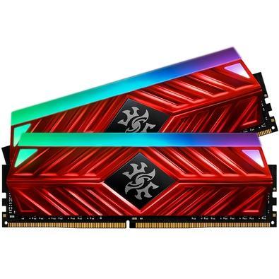 Memória XPG Spectrix D41, RGB, 16GB (2x8GB), 3200MHz, DDR4, CL18, Vermelho - AX4U320038G16-DR41