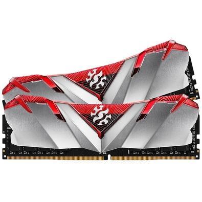 Memória XPG Gammix D30, 32GB (2x16GB), 3200MHz, DDR4, CL16, Vermelho - AX4U3200316G16-DR30