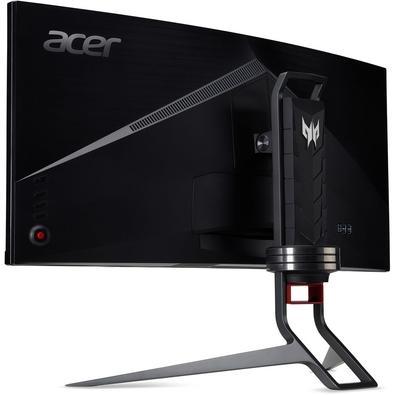 Monitor Gamer Acer Predator, LED, 34´, Ultra Wide Curvo, QHD, IPS, HDMI, DisplayPort, Som Integrado, Altura Ajustável - X34 PBMIPHZX