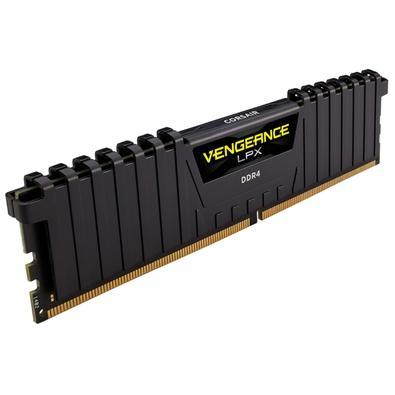 Memória Corsair Vengeance LPX 32GB (2x16GB) 2400Mhz DDR4 C14 Black - CMK32GX4M2A2400C14