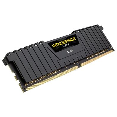 Memória Corsair Vengeance LPX 32GB (4x8GB) 3200Mhz DDR4 C16 Black - CMK32GX4M4B3200C16