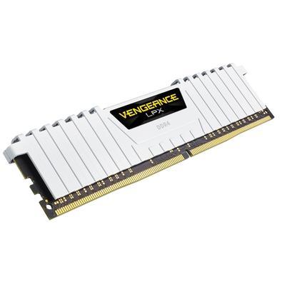Memória Corsair Vengeance LPX 64GB (4x16GB) 2666Mhz DDR4 C16 White - CMK64GX4M4A2666C16W