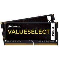Memória Corsair Value Select Para Notebook 32GB (2x16GB) 2133Mhz DDR4 C15 - CMSO32GX4M2A2133C15