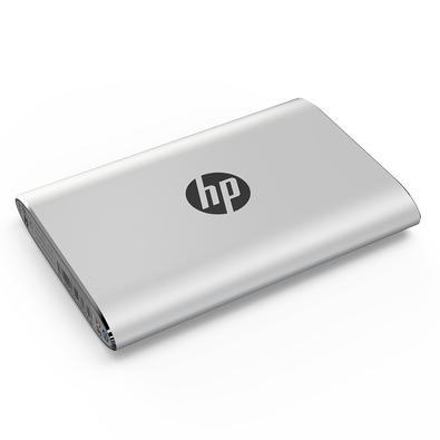 SSD Externo HP P500, 250GB, USB, Leituras: 370Mb/s e Gravações: 200Mb/s, Prata - 7PD51AA#ABC