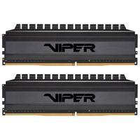 Memória Patriot Viper 4 Blackout 16GB (2x8GB), 3600MHz, DDR4, CL17 - PVB416G360C7K