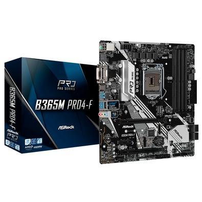 Placa-Mãe ASRock B365M Pro4-F, Intel LGA1151, mATX, DDR4