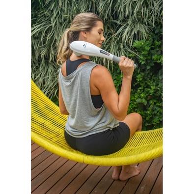 Massageador RelaxMedic Wireless Touch, 2 Intensidades, 5 Acessórios, Bivolt - RM-MP2016A