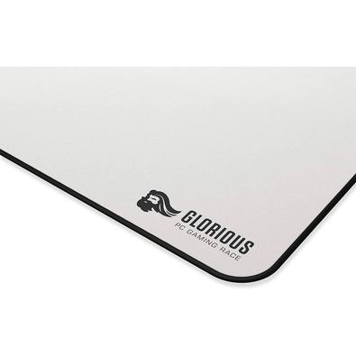 Mousepad Gamer Glorious PC Gaming Race GW-3XL, Speed/Control, Extra Grande (610x1220mm), Branco - GW-3XL