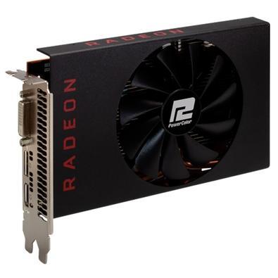 Placa de Vídeo Power Color AMD RX 5500 XT, 4GB, GDDR6 - G00325600G