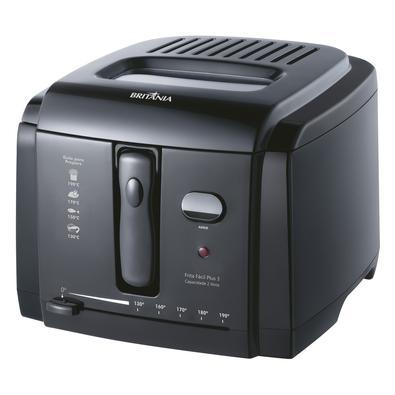 Fritadeira Britânia Frita Fácil Plus 3, 2 Litros, 220V, Preta - 63802015