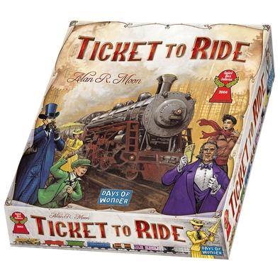 Jogo Ticket to Ride - TTR001