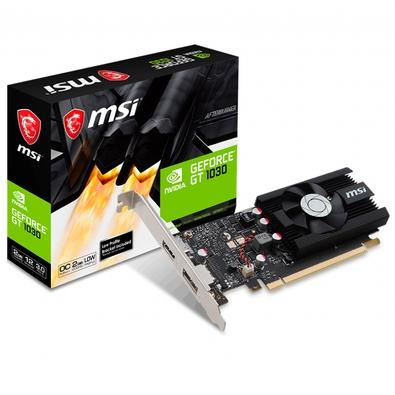 Placa de Vídeo MSI NVIDIA GeForce GT 1030 2G LP OC, 2GB, GDDR5 - Geforce GT 1030 2G LP OC