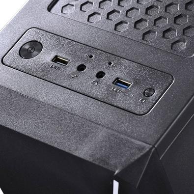 Computador Gamer Skul 5000 Intel Core i5 9400F, 8GB, SSD 120GB, HD 1TB, Linux - 33381