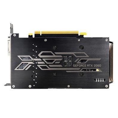 Placa de Vídeo EVGA NVIDIA GeForce RTX 2060 KO Ultra Gaming, 6GB, GDDR6 - 06G-P4-2068-KR