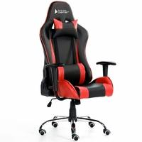 Cadeira Gamer Bluecase Titanium Red/Black - BCH07RBK
