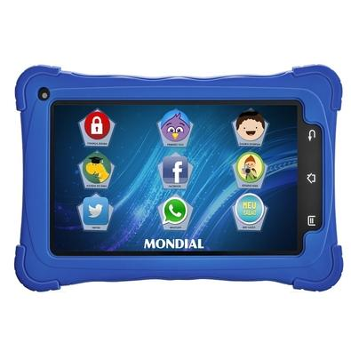 Tablet Mondial Kids, Android 7.1, 8GB, Azul - TB-18
