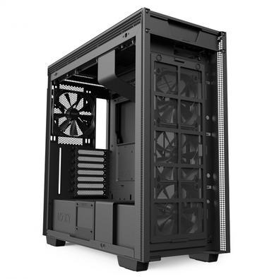 Gabinete Gamer NZXT H710, Full Tower, com FAN, Lateral em Vidro - CA-H710B-B1