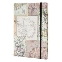 Caderno de Anotações Maxprint World Map - 722056