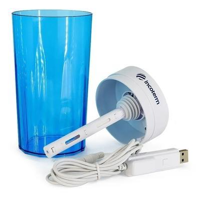 Umidificador Portátil Incoterm UMD030, 500ml, Azul - S-UMD-0020.00