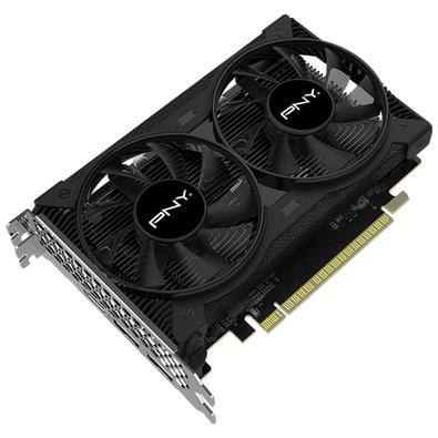 Placa de Vídeo PNY NVIDIA GeForce GTX 1650, 4GB, GDDR6 - VCG16504D6DFPPB