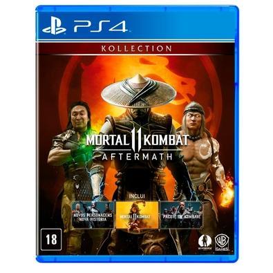 Game Mortal Kombat 11: Aftermath PS4