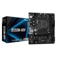 Placa-Mãe ASRock B550M-HDV, AMD AM4, Micro ATX, DDR4