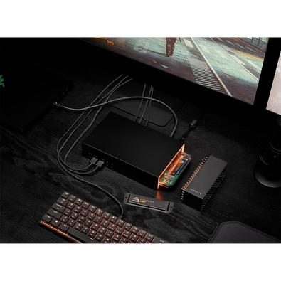 HD Externo Segate FireCuda Gaming Dock, 4TB, USB 3.1 - STJF4000400