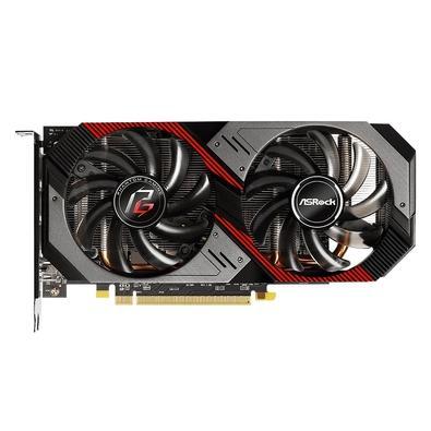 Placa de Vídeo ASRock AMD Radeon RX 5500 XT Phantom Gaming D 8G OC, 8GB, GDDR6 - RX5500XT PGD 8GO