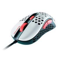 Mouse Gamer Fallen F65 Mars, RGB, 6 Botões, 12000DPI, Branco