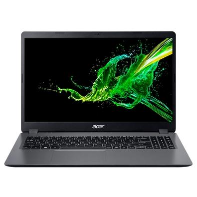 Notebook Acer Aspire 3 Intel Core i5-10210U, 4GB, SSD 256GB, Windows 10 Home, 15.6´, Cinza - A315-54-561D