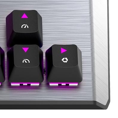 Teclado Mecânico Gamer Cooler Master CK530 TKL V2, RGB, Switch Red, US - CK-530-GKTR1-US