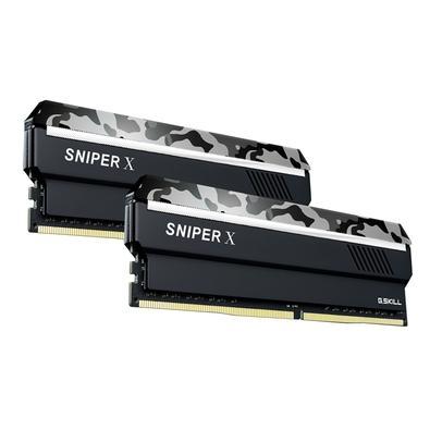 Memória G.Skill Sniper X, 16GB (2x8GB), 2400MHz, DDR4, CL17, Urban Camo - F4-2400C17D-16GSXW