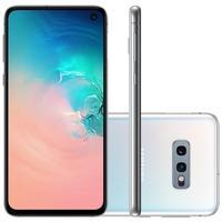 Smartphone Samsung Galaxy S10e, 128GB, 16MP, Tela 5.8´, Branco - SM-G970FZWRZTO