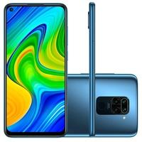Smartphone Xiaomi Redmi Note 9, 64GB, 48MP, Tela 6.53', Cinza Midnight Gray + Capa Protetora - CX295CIN