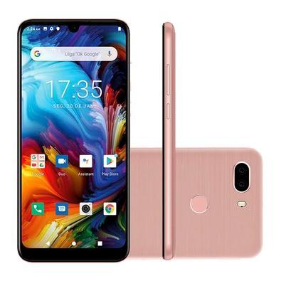 Smartphone Philco HIT MAX, 128GB, 12MP, Tela 6´, Rose Gold + Capa protetora - PCS02RG