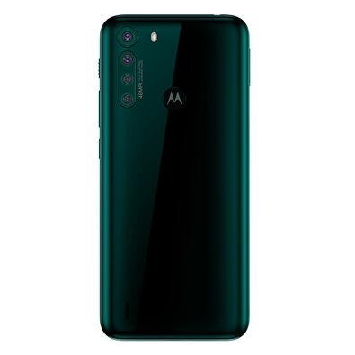 Smartphone Motorola One Fusion, 128GB, 48MP, Tela 6.5´, Verde Esmeralda + Capa Protetora - PAK20027BR