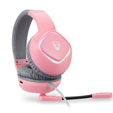 Headset Gamer Motospeed G750, RGB, 7.1 Virtual, Drivers 40mm, Rosa - FMSHS0092RSA