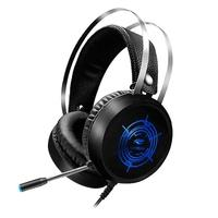 Headset Gamer C3Tech Gaming Harrier, Iluminação Multicores, Drivers 40mm - PH-G330BK