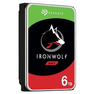 HD Seagate IronWolf NAS, 6TB, 3.5´, SATA - ST6000VN001