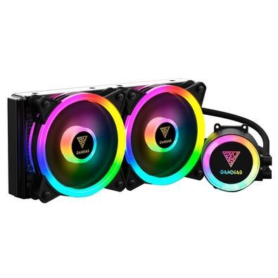 Water Cooler Gamdias Chione, 240mm, RGB - CHIONE M2-240 LITE