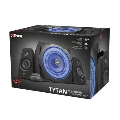 Subwoofer Trust GXT 628 Tytan, 2.1, P2, 60W RMS, LED - 20562