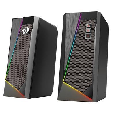 Caixa de som Gamer Redragon GS520 Anvil, 2.0 Canais, USB/P2, RGB, 3W RMS - GS520