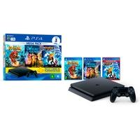 Console Sony PlayStation 4 Mega Pack Family, 1TB, Knack 2 + Concrete Genie + Ratchet & Clank - CUH-2214B